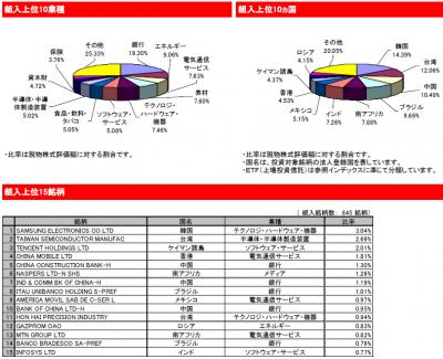 201411_eMAXIS 新興国株式_中身