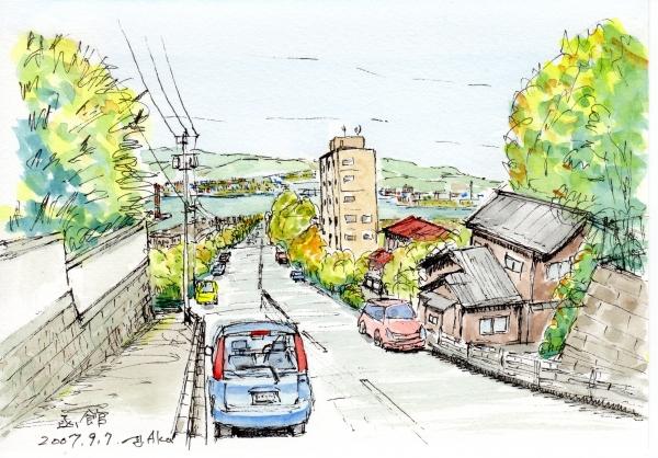 函館市街地