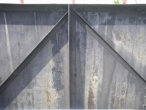 エポタール処理フェンス