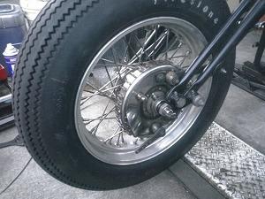 ドラムブレーキ装着画像