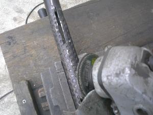 ハンドル切り込み加工
