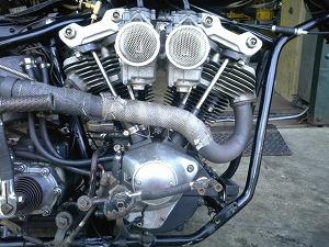 オープンOHVエンジン
