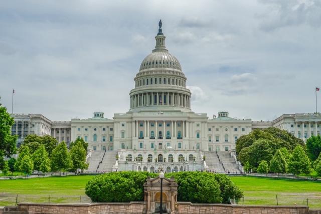 アメリカ国会議事堂の写真