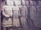 中国館の中のレリーフ