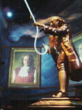 ベンジャミン・フランクリンの像