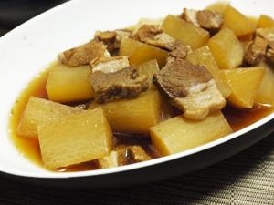 豚肉と大根のお酢煮