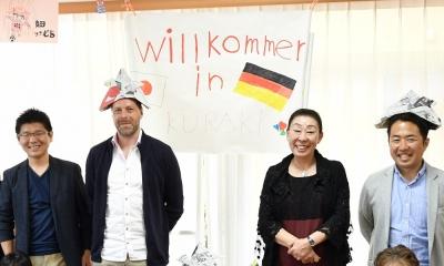 f010aa4b3381 ドイツブンデスリーグのシュツットガルトのマーケティング責任者のハイコさんと 元ドイツ代表のセバスチャンコーチが訪日の忙しい日程の合間を縫って、久良岐母子福祉  ...