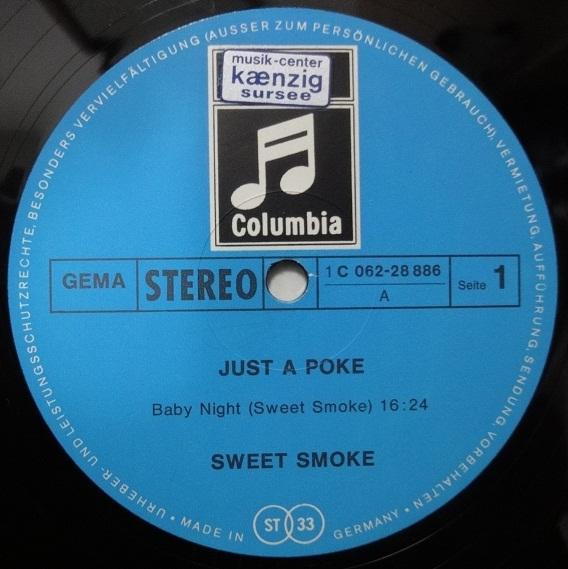 Sweet Smoke Just A Poke Vinyl Futures