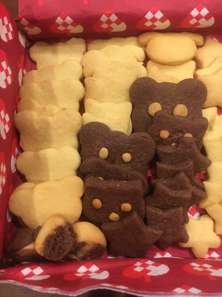 息子の同級生の手作りクッキー!