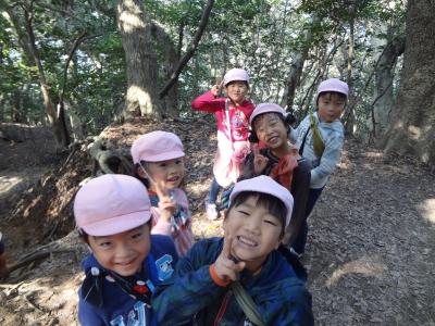 2016/11/04 5歳児薔薇組 城山登山