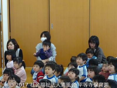 2017/03/03 ひな祭り(園開放)