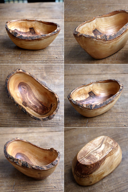 オリーブの小皿−ルスティカ