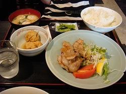 豚トロ定食
