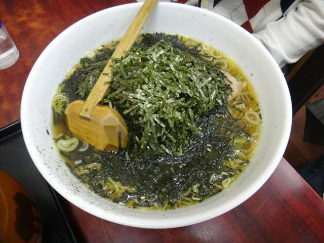 海苔ラーメン(800円)