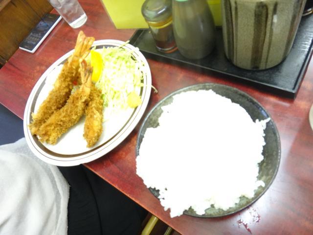 エビフライ(900円)