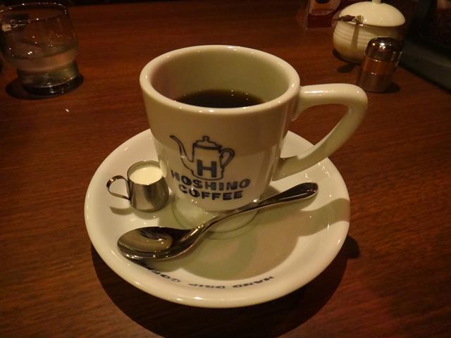 ホットコーヒー(400円)