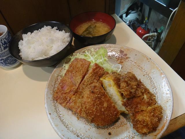 人気定食(650円)