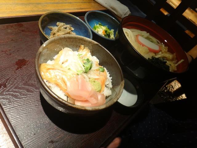 トラウトサーモン炙り丼