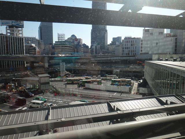 ヒカリエから渋谷駅