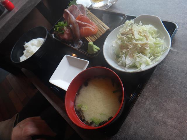 刺身定食(890円)