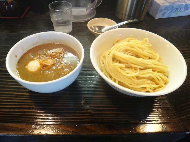 味玉つけ麺(900円)