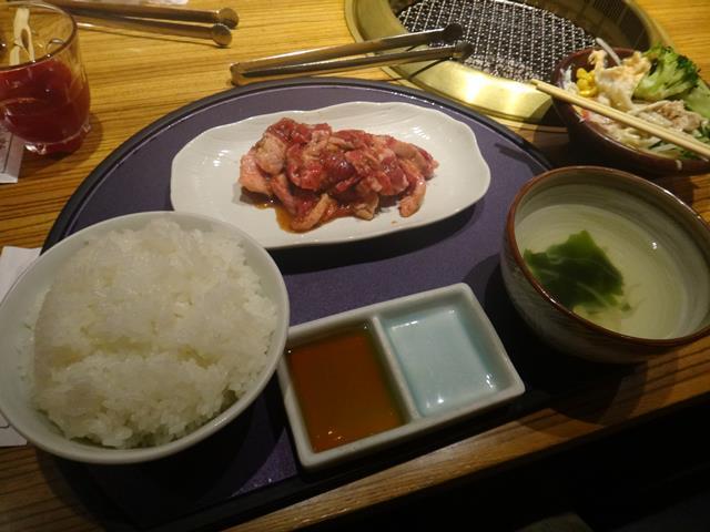 まんぷくランチ(1050円)