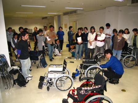 月例会 車椅子検証2007年5月
