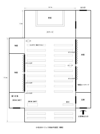 教会平面図(概要)