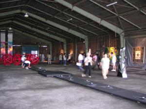 9月9日の倉庫の様子。