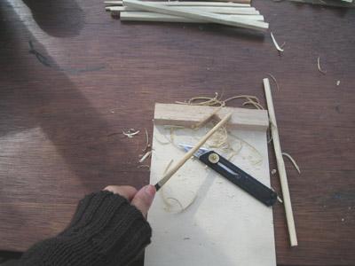 竹はし作り