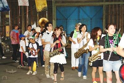 Art!Port!楽団によるパレード
