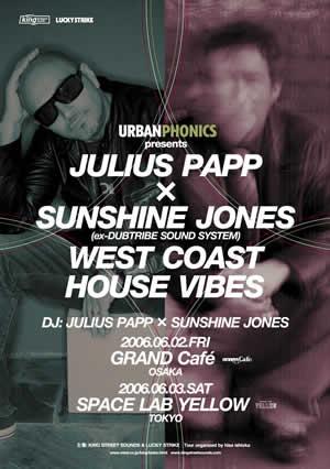 JULIUS PAPP x SUNSHINE JONES