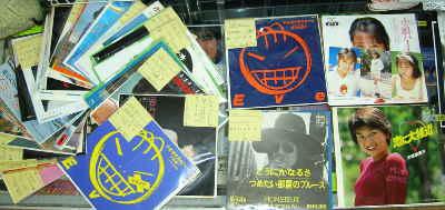5月5日出品のレコードたち