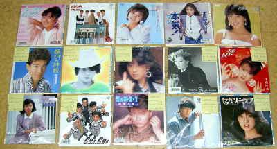 9月28日出品のレコードたち1