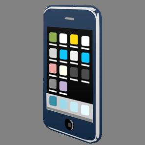 IT素材携帯電話001a