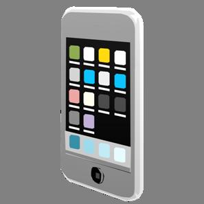 IT素材携帯電話001b