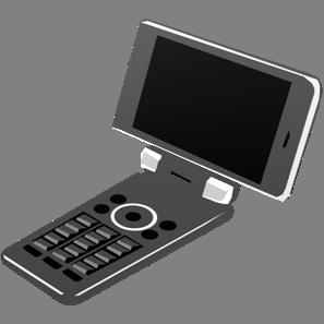 IT素材携帯電話002a