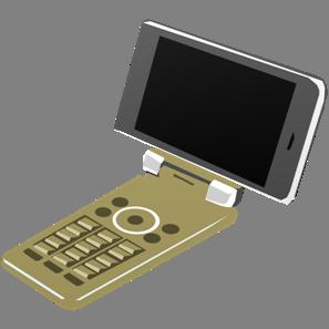 IT素材携帯電話002b