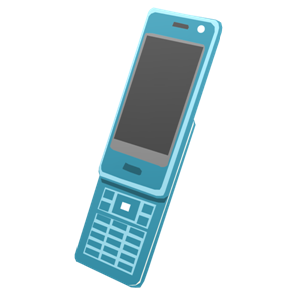 IT素材携帯電話004a