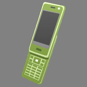 IT素材携帯電話004b