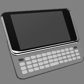 IT素材携帯電話005a