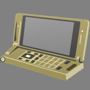 IT素材携帯電話006b