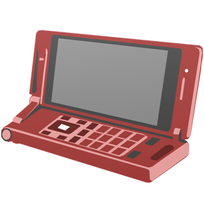 IT素材携帯電話006c