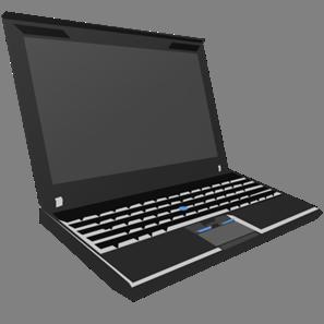 IT素材パソコン001a