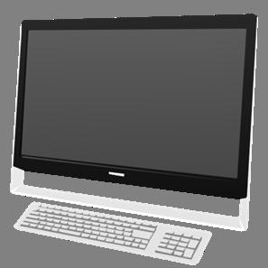 IT素材パソコン005b