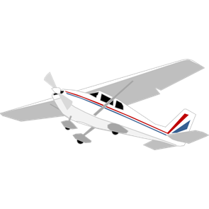 乗り物素材飛行機004
