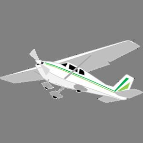 乗り物素材飛行機005