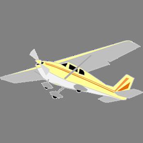 乗り物素材飛行機006