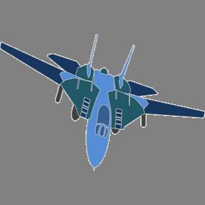 乗り物素材飛行機009