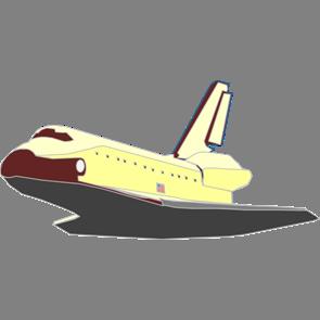 乗り物素材飛行機011